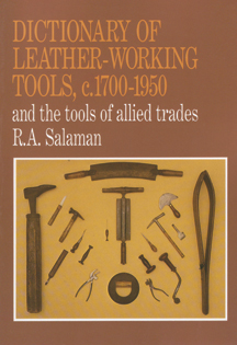 Dictionary of Leatherworking Tools Book Cover