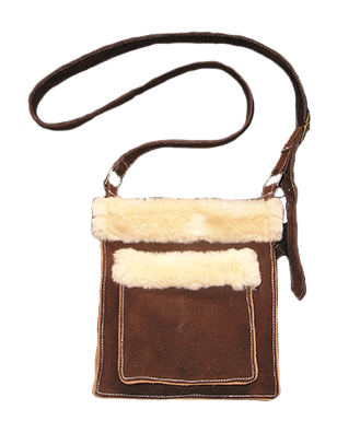 Booth & Co Shearling Bag #29