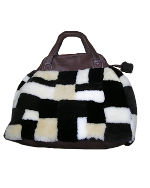 Booth & Co Shearling Bag #43