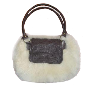 Shearling Leather Bag