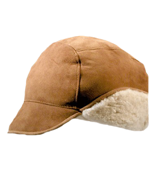 Shearling Leather Hats